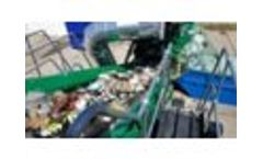 Kiverco Modular Recycling Plant Processing Municipal Solid Waste - Video