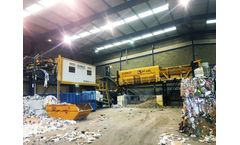 Waste recycling solutions for dry mixed recyclables sector