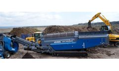 Waste recycling systems for top soil