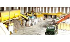 Waste recycling systems for refuse derived fuel (RDF)