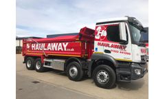 Kiverco to provide a third waste system to Haulaway Plant.
