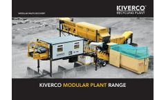 Kiverco - Modular Waste Recovery - Brochure