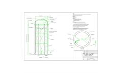 Caldwell - Model LEG - Multi Column Elevated Storage Tank - Brochure