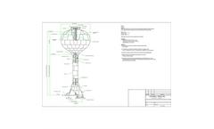 Caldwell - Model PED - Pedesphere Elevated Storage Tank  -Brochure