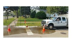 Unidirectional Water Main Flushing Services