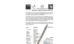 GISCO - Model BGK 1000 - Digital Borehole Geophone Brochure