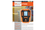 CorDex - UT500 - NDT Metal Thickness Measurement Ultrasonic Tester Brochure