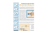 Continuous Solids Dryers  Brochure