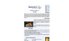 Georadis RT-60 Gamma Ray Borehole Logging System Datasheet