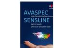 Avantes SensLine - Model HS2048XL - Spectrometers - Brochure