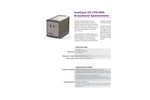 AvaSpec - Model UV/VIS/NIR - Versatile Broadband Spectrometer - Brochure