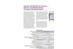 AvaSpec - HS1024 x58 -122 - High-Sensitivity Fiber-Optic Spectrometers Brochure