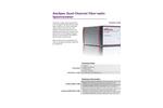 AvaSpec Dual-channel Fiber Optic Spectrometers Brochure