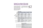 AvaSpec preconfigured Fiber Optic spectrometers from Stock Brochure
