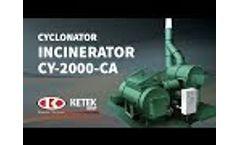 Dust-Suppression test - Ketek Group Video