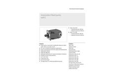 Bosch Rexroth - Model A4FO - Axial Piston Fixed Pump Brochure