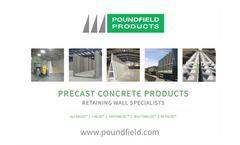 Precast Concrete Products Brochure
