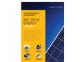 REC Peak Energy Series - Brochure