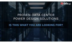 Riello UPS - Data Center Solutions - Video