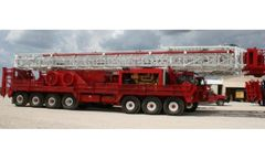 LCI - Model Drawworks 750/4212-42 - Loadcraft Rig