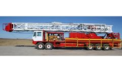 LCI - Model Drawworks 550/42-12, 42-8 - Loadcraft Rig