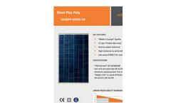 Silver Plus - Polycrystalline Module Brochure
