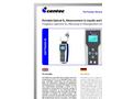 OXYTRANS M Portable, Optical Oxygen Sensor - Brochure
