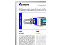 CARBOTEC TR-PT Carbon Dioxide Sensor - Brochure