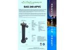 Max Flow - Model 150 Gpm - SAG240APVC Pro Series - Low Pressure High Output Amalgam Lamp UV System Brochure
