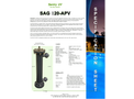 Max Flow - Model 75 Gpm - SAG120APVC Pro Series - Low Pressure High Output Amalgam Lamp UV System Brochure