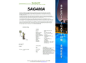 Max Flow - Model 350 Gpm - SAG480A Pro Series - Single Pass Flows UV System Brochure
