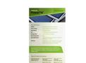 UniSolar PowerTilt - Solar Module - Specifications