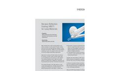 Heraeus - Reflective Coating (HRC) for Lamp Materials Brochure