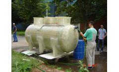 Model BIG-G - Wastewater Treatment Plants