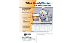 Titan II ReadyWorker™ - Fall Protection Kits - Datasheet