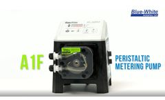 FLEXFLO A1F - Peristaltic Chemical Metering Pump - Video