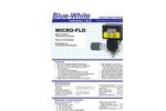 Blue-White - Model Micro-Flo - Brochure