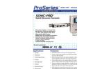 Sonic-Pro Hybrid Ultrasonic Flowmeters - Brochure