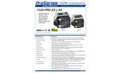 Flex-Pro - Model A3 - Peristaltic Pump - Datasheet