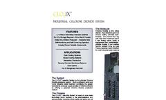 CLO2IX - Industrial Chlorine Dioxide System - Brochure