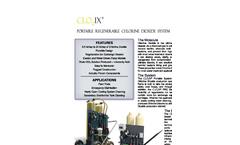 CLO2IX - Model PRG Series - Portable Chlorine Dioxide System - Brochure
