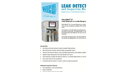 Non-Destructive Leak Testers - Brochure