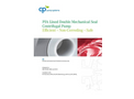 CP-Pumpen - Model MKTP - Stainless Steel Magnetic Drive Chemical Process Sump Pump Brochure