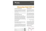 Measurement Solution for Measuring Total VOC via FTIR - Application Datasheet