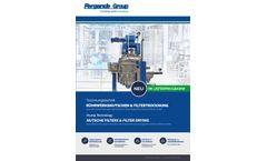 Pergande - Nutsche Filters & Filter Drying - Brochure
