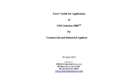 CDG Solution 3000 - Commercial and Industrial Applications