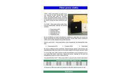 VOIGT - Filter Press Cloths Brochure