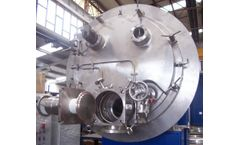 Delta - Model DVRF - Horizontal Vacuum Dryer