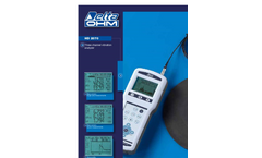 HD2070 portable vibration analyzer, spectral and statistical