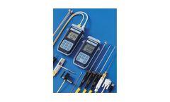 Delta - Model HD 2108.1 - HD 2108.2/HD 2128.1 - HD 2128.2 - Portable Temperature Thermometer